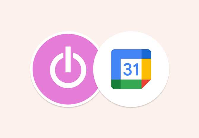 Time tracking integration with Google Calendar
