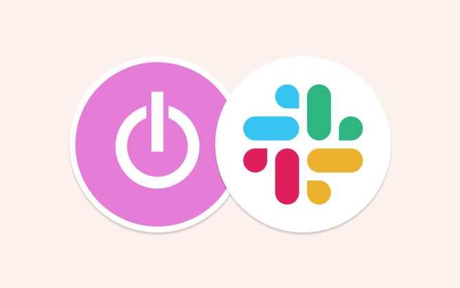 Time tracking integration with Slack