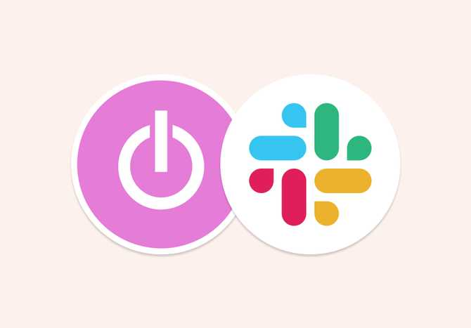 Time tracking integration with Slack