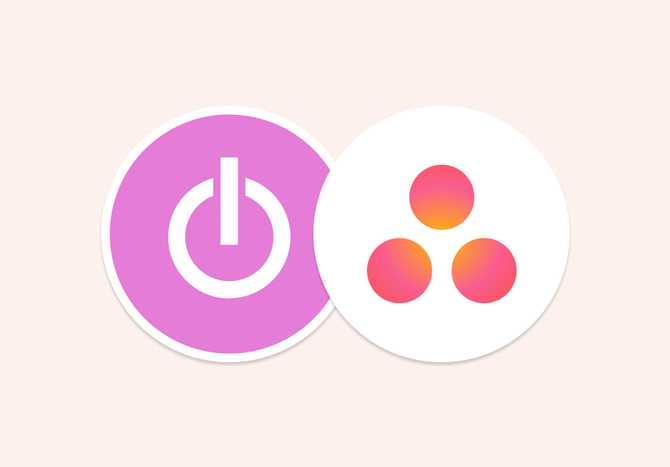Time tracking integration with Asana
